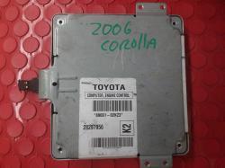 Computadora de Toyota Corolla 2006